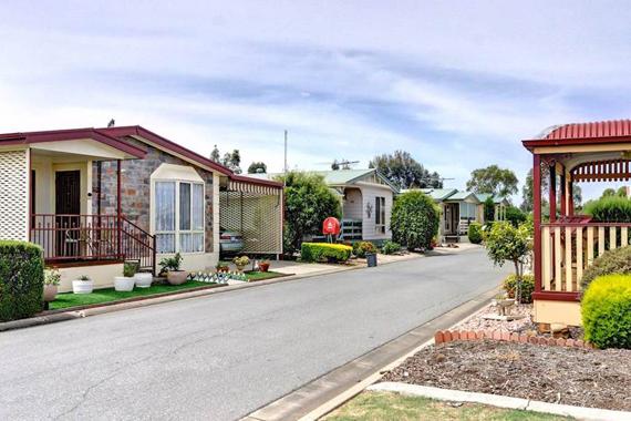 caravan parks permanent living